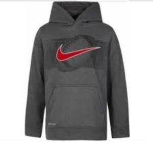 NIKE BOYS SIZE 4 FOOTBALL PULLOVER HOODIE